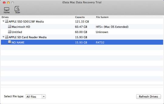 iData Mac Data Recovery