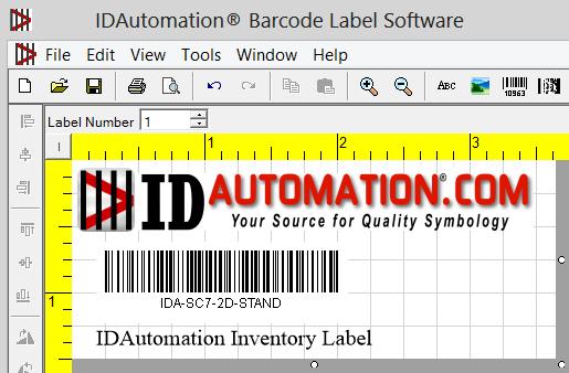 Miễn phí tải về IDAutomation Code 128 Barcode Fonts Cho Windows