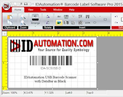 IDAutomation Barcode Label