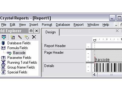 IDAutomation Crystal Reports Linear UFL