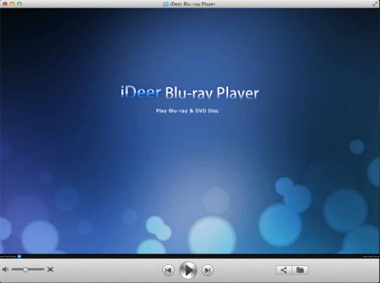 iDeer Mac Blu ray Player