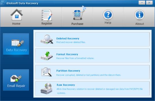 iDisksoft Data Recovery