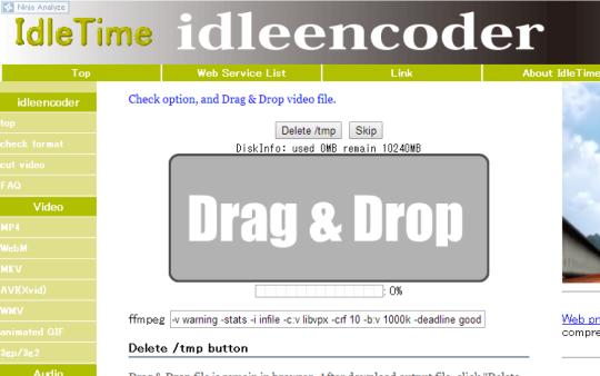 Idleencoder