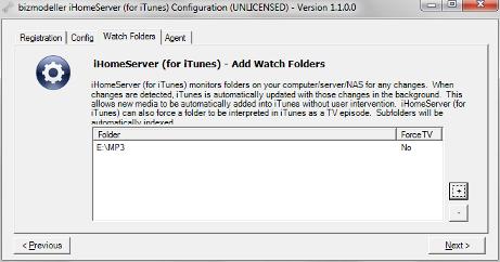 iHomeServer for iTunes