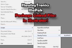 IllaPack - Link Packager for Illustrator