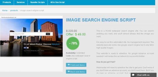 Image Search Engine Script