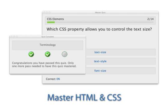 iMaster HTML & CSS