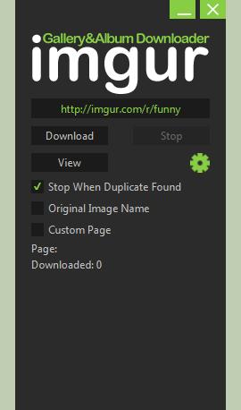 imgurGallery&Album Downloader