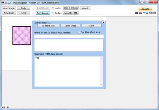 IMMA - Image Mapper