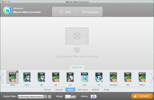 iMovie Video Converter