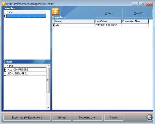 imPcRemote Manager Pro