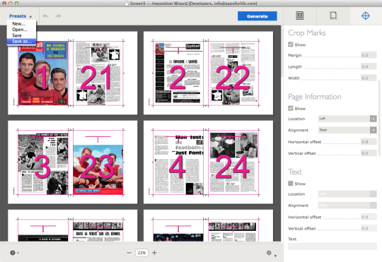 Imposition Wizard for Adobe Acrobat