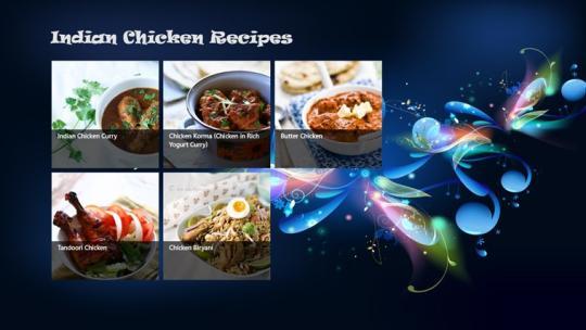 Indian Chicken Recipe for Windows 8