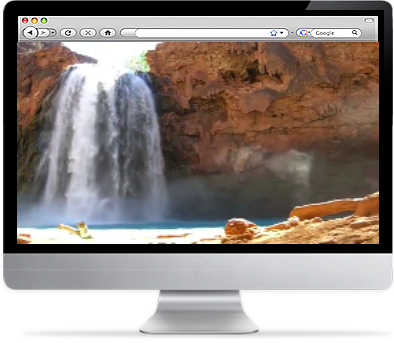 Indian Waterfall Screensaver