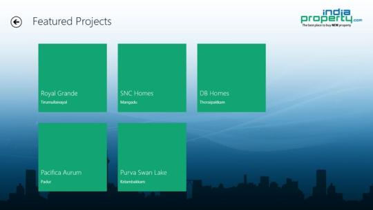 IndiaProperty for Windows 8