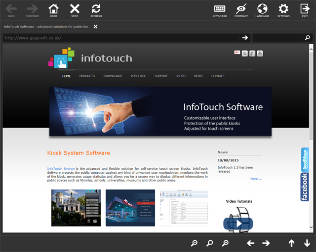 InfoTouch Basic