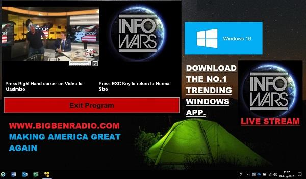 InfoWars Banned Video Live Stream