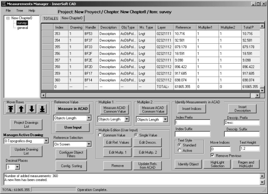 InnerSoft CAD for AutoCAD 2009