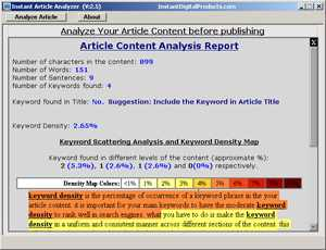 Instant Article Analyzer