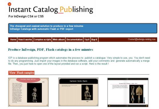 Instant Catalog Publishing