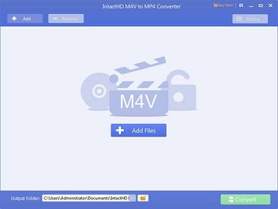 IntactHD M4V to MP4 Converter
