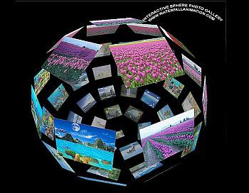 Interactive Sphere Photo Gallery