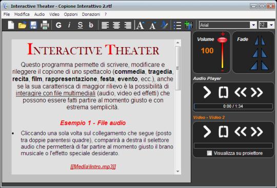 Interactive Theater Portable