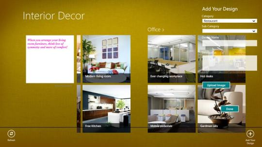 Interior Decor for Windows 8