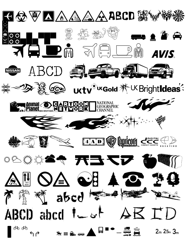 International Logos and Symbols