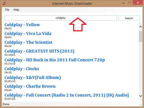 Internet Music Downloader