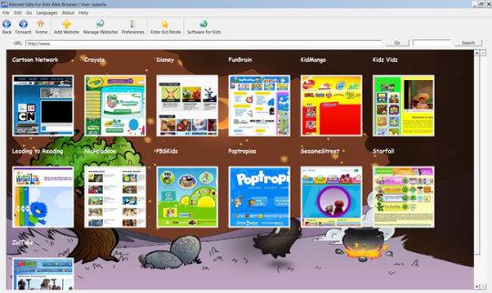 Internet Safe for Kids Web Browser