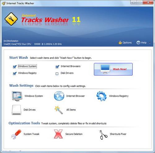 Internet Tracks Washer