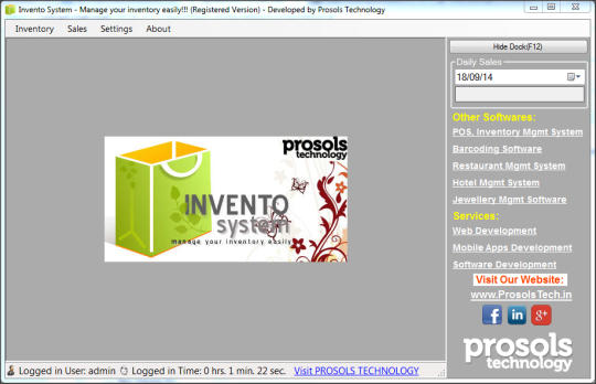 Invento Billing System Free