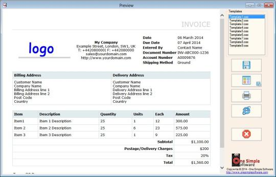 Invoice Quotations and Purchase Orders Maker Lite