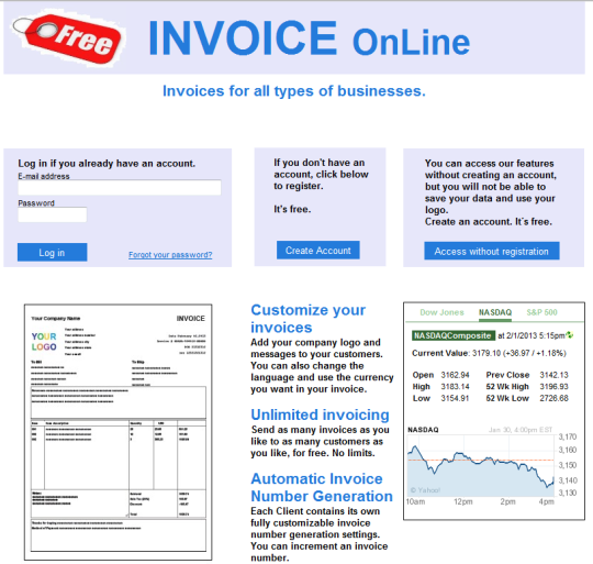 Invoices & Receipts