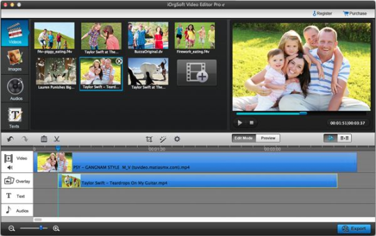 iOrgsoft Video Editor