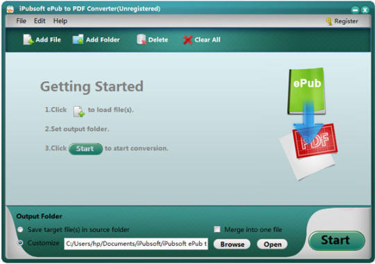 iPubsoft ePub to PDF Converter