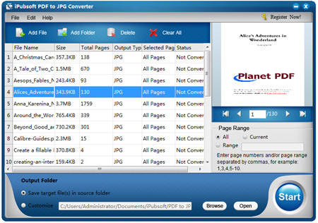 iPubsoft PDF to JPG Converter