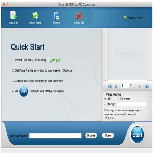iPubsoft PDF to JPG Converter