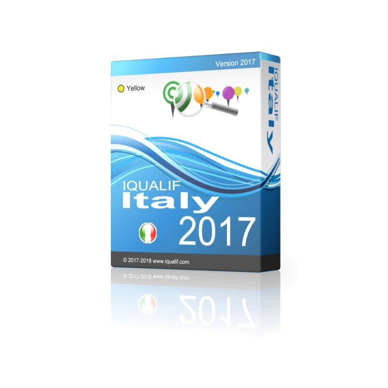Iqualif Italy Yellow