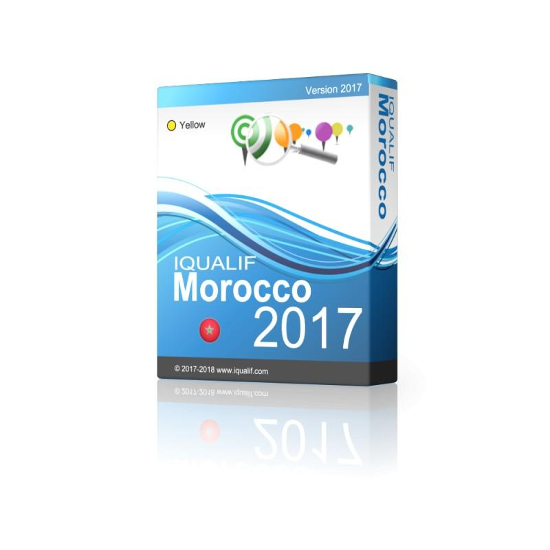 Iqualif Morocco Yellow