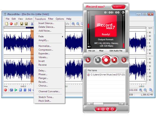 iRecordMax Sound Recorder