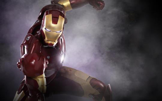 Iron Man Windows Theme