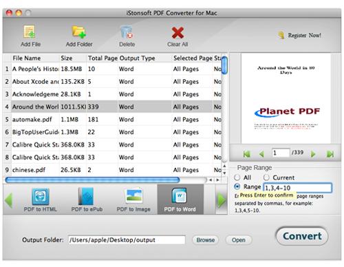 iStonsoft PDF Converter for Mac