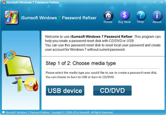 iSumsoft Windows 7 Password Refixer