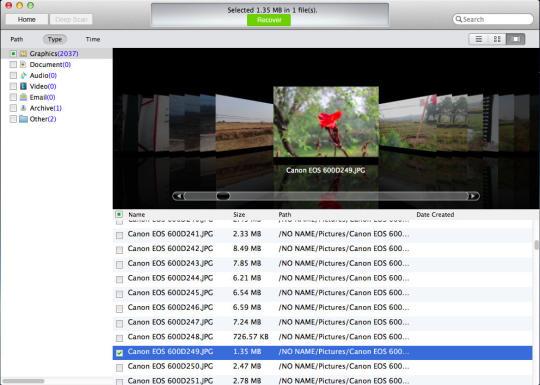 IUWEshare Mac Digital Camera Photo Recovery