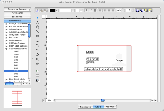 iWinSoft Label Maker Professional