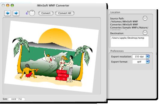 iWinSoft WMF Converter