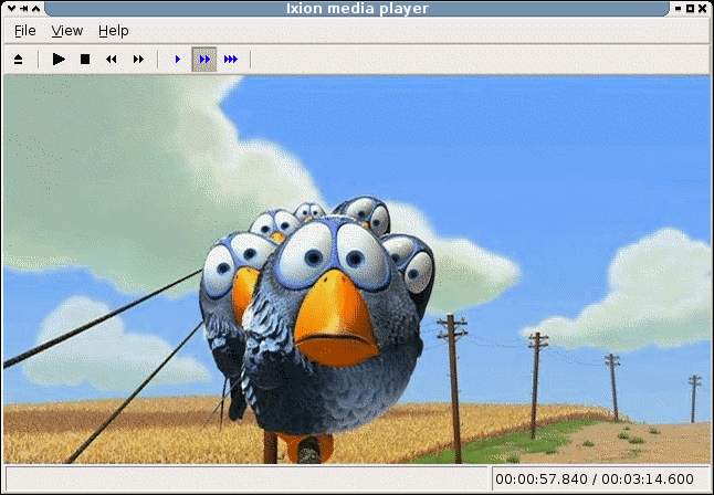 Ixion media player