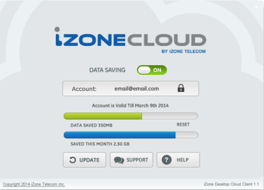 iZone Cloud (previously known as iZone Internet Turbo)
